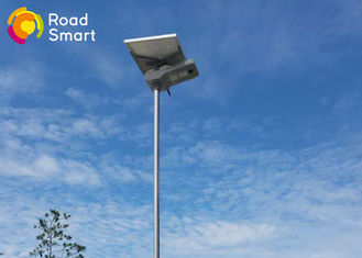 Cina 12v 30w Terpadu Surya LED Street Light Panel Angle Rotating High Luminance pemasok